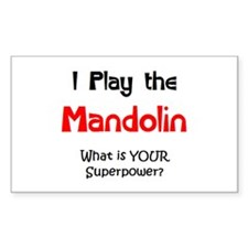 play mandolin Decal
