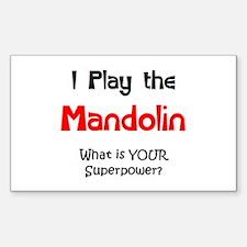 play mandolin Decal