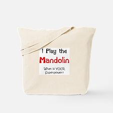 play mandolin Tote Bag