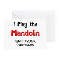 play mandolin Greeting Card