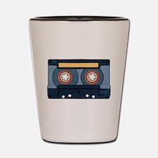 Blue Cassette Shot Glass