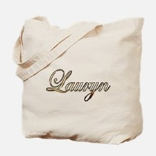 Gold Lauryn Tote Bag