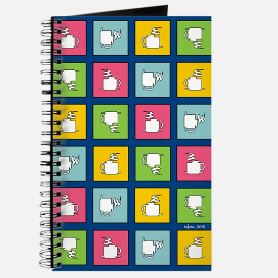 COFFEE CHECKERBOARD Journal