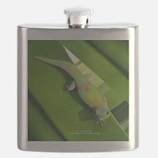 Rainbow Geckoe Flask