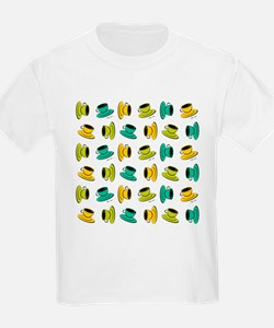 SCATTERED COFFEE MUGS T-Shirt