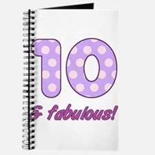 10th Birthday Dots Journal
