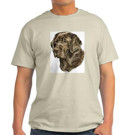 Labrador Retriever Chocolate Lab Ash Grey T-Shirt
