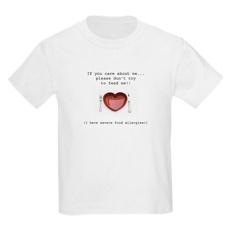 Food Allergy Kids Light T-Shirt