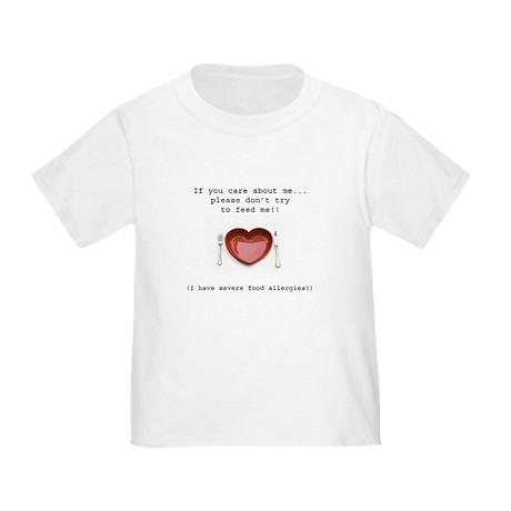 Food Allergy Toddler T-Shirt