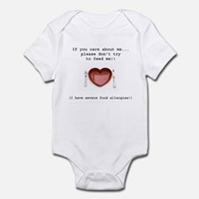 Food Allergy Infant Bodysuit