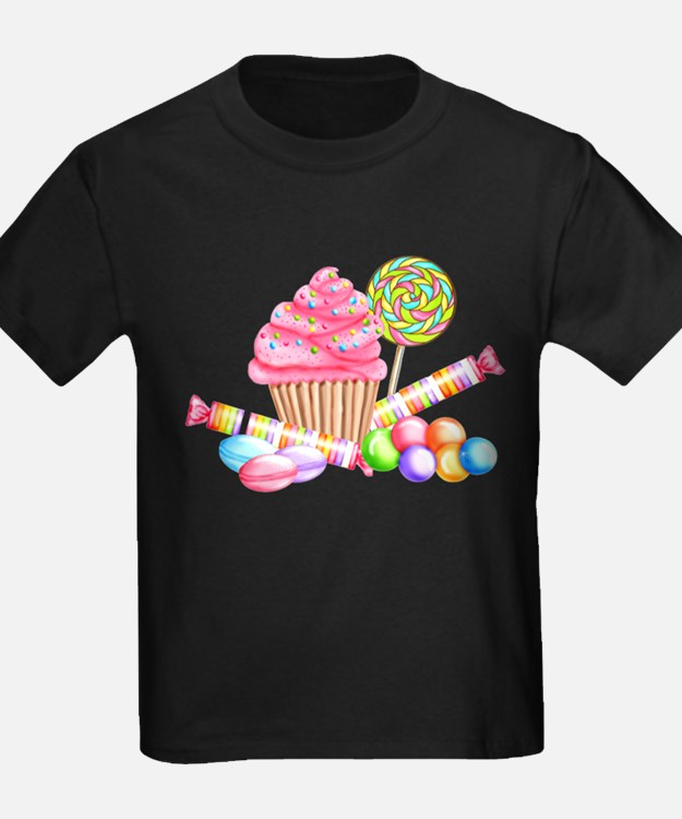 Cute Birthday candy theme T