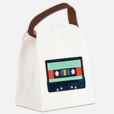 Indigo Cassette Canvas Lunch Bag