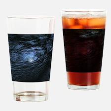 Cute Blue hole Drinking Glass