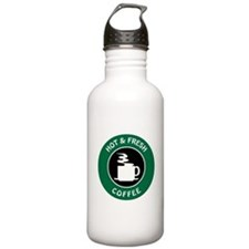 HOT AND FRESH COFFEE Water Bottle