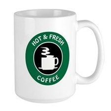 HOT AND FRESH COFFEE Mugs