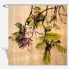 Gentle Jacaranda Shower Curtain