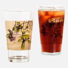 Gentle Jacaranda Drinking Glass
