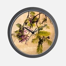 Gentle Jacaranda Wall Clock