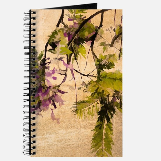 Gentle Jacaranda Journal
