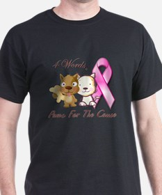 Unique Cancer words T-Shirt