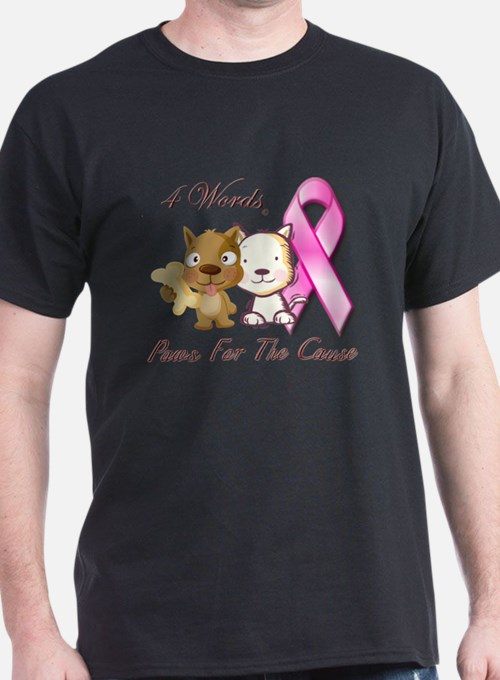 Cute Paws for a cause T-Shirt