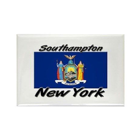 Southampton New York Rectangle Magnet