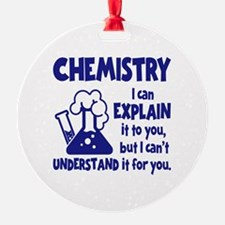 CHEMISTRY Ornament