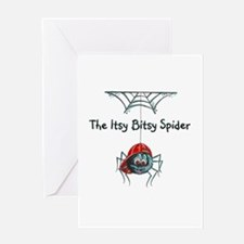 The Itsy Bitsy Spider / Boy Greeting Cards