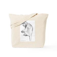 Javan Langur Tote Bag