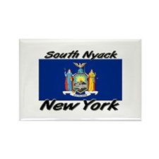 South Nyack New York Rectangle Magnet