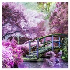 Bridge to Fairyland Canvas Art