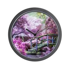 Bridge to Fairyland Wall Clock