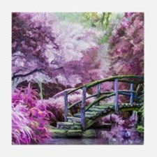 Bridge to Fairyland Tile Coaster