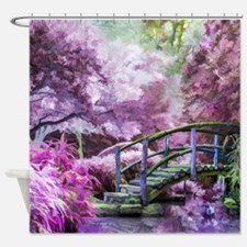 Bridge to Fairyland Shower Curtain