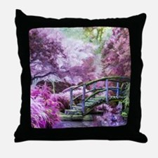 Bridge to Fairyland Throw Pillow