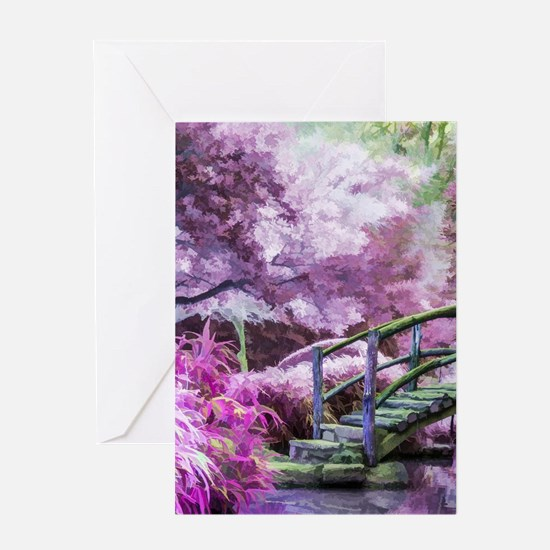 Bridge to Fairyland Greeting Cards