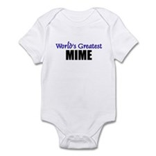 Worlds Greatest MIME Infant Bodysuit