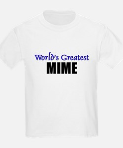 Worlds Greatest MIME T-Shirt