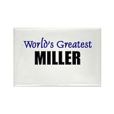 Worlds Greatest MILLER Rectangle Magnet