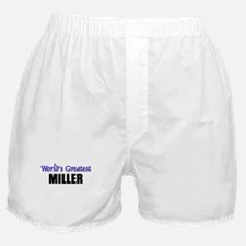 Worlds Greatest MILLER Boxer Shorts