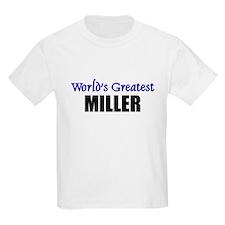 Worlds Greatest MILLER T-Shirt
