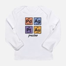 Cute Baby metal Long Sleeve Infant T-Shirt