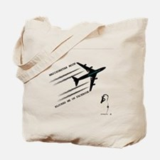 Funny Chemtrail Tote Bag