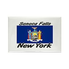 Seneca Falls New York Rectangle Magnet