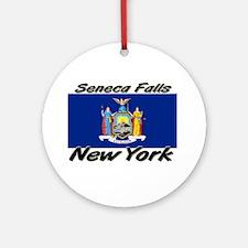 Seneca Falls New York Ornament (Round)