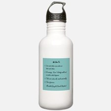 POST-IT NOTE VOWS Water Bottle