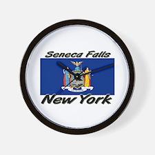 Seneca Falls New York Wall Clock