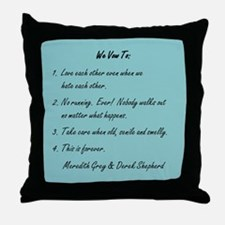 POST-IT NOTE VOWS Throw Pillow