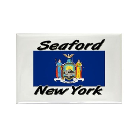 Seaford New York Rectangle Magnet