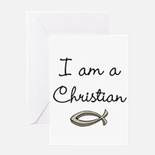 I am a Christian Greeting Cards